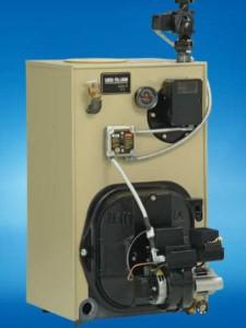 hvac equipment installation - oil boiler